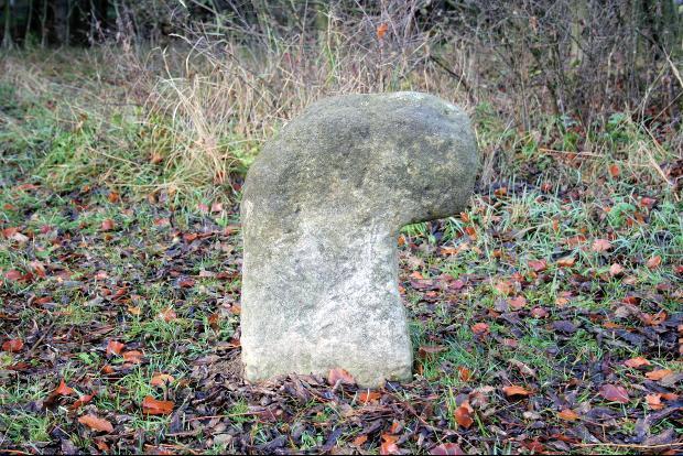 Das Steinkreuz von Mausendorf.