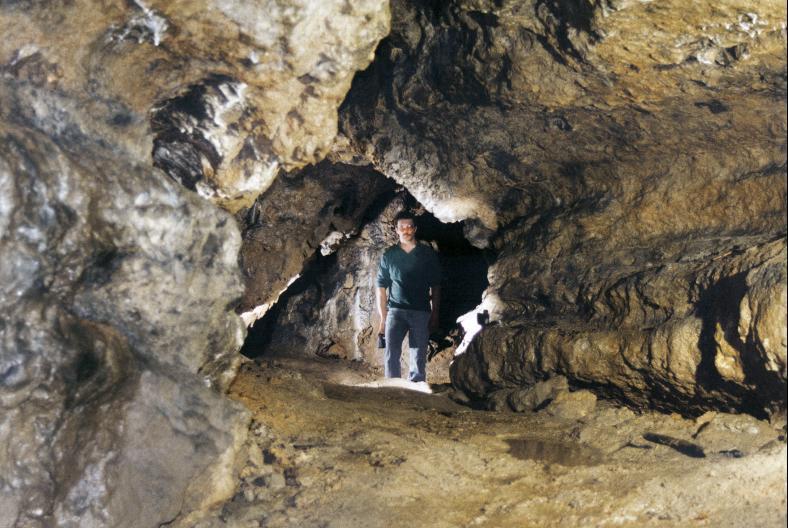 Im Backofenloch bei Seebach wurde im Mittelalter nach Erzen gesucht.