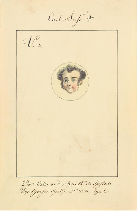 Carl v. Sass [Karl Christopher Georg von Sass]