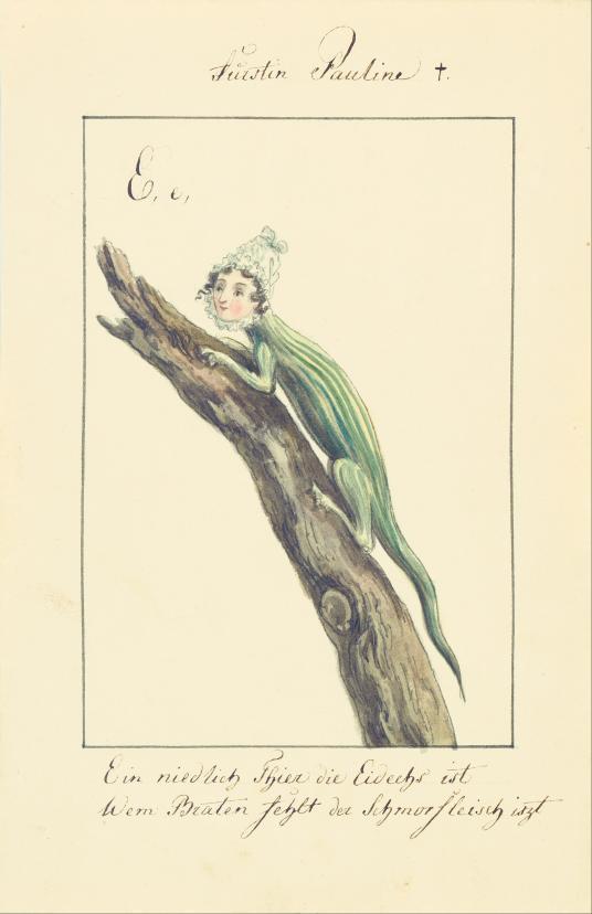 Fürstin Pauline [Pauline von Hohenzollern-Hechingen]