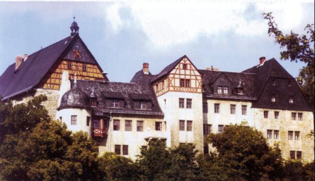 Schloss Beichlingen von Süden.