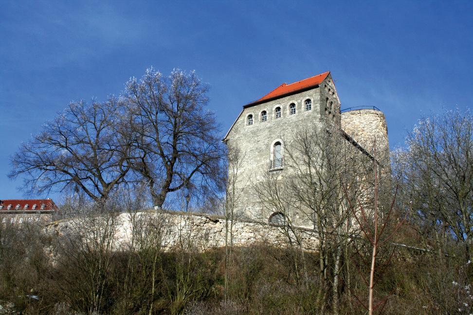 Für Besucher sind Palas und Bergfried des Hausmannsturmes in Bad Frankenhausen am Tag des offenen Denkmals begehbar.