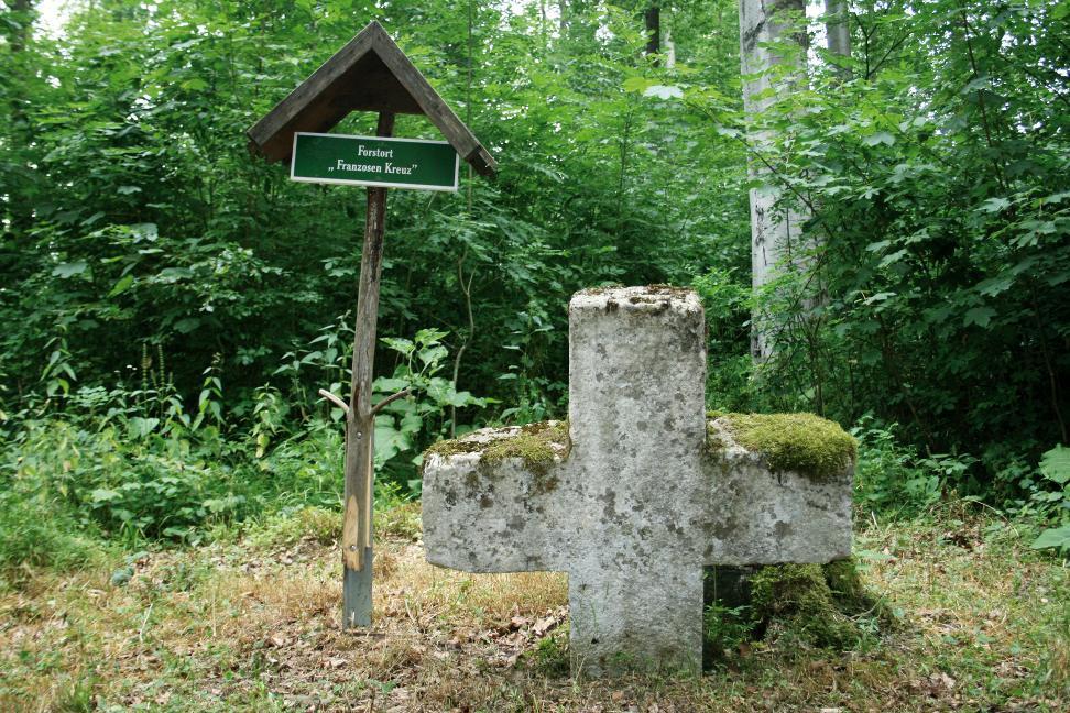 Das Franzosenkreuz bei Sondershausen.