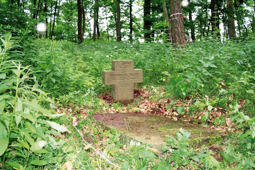 Das Steinkreuz bei Sondershausen.