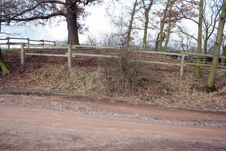 Von der Kirchenwüstung bei Berka/ Werra zeugt heute noch ein Hügel.