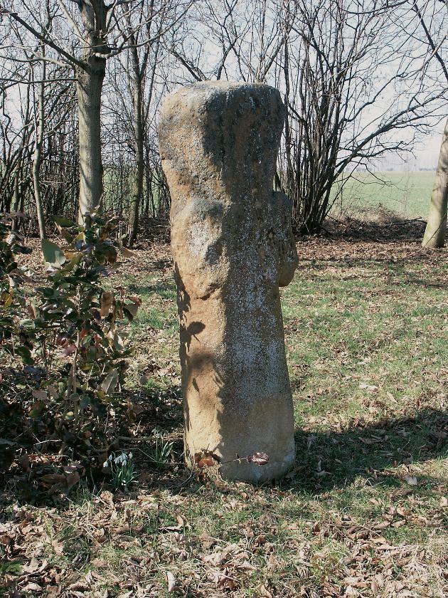 Das Siebenlindenkreuz nordöstlich des Ortes Großneuhausen.
