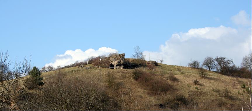 Die Koleschhöhle bei Neunhofen war ein Jagdlager der Altsteinzeit.