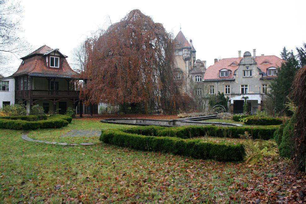 Das heutige Schloss Kospoda.