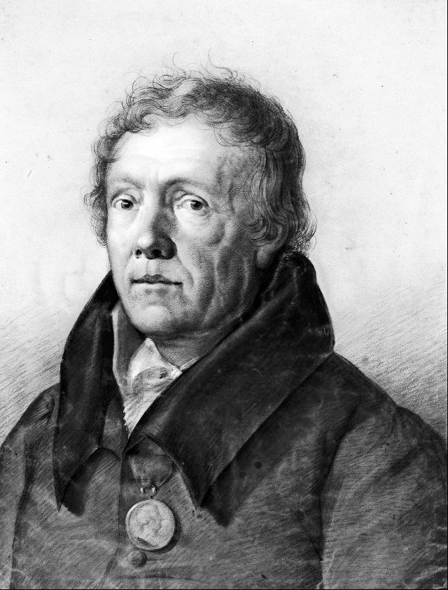 Der herzogliche Bibliothekar Christian August Vulpius (1762–1827).