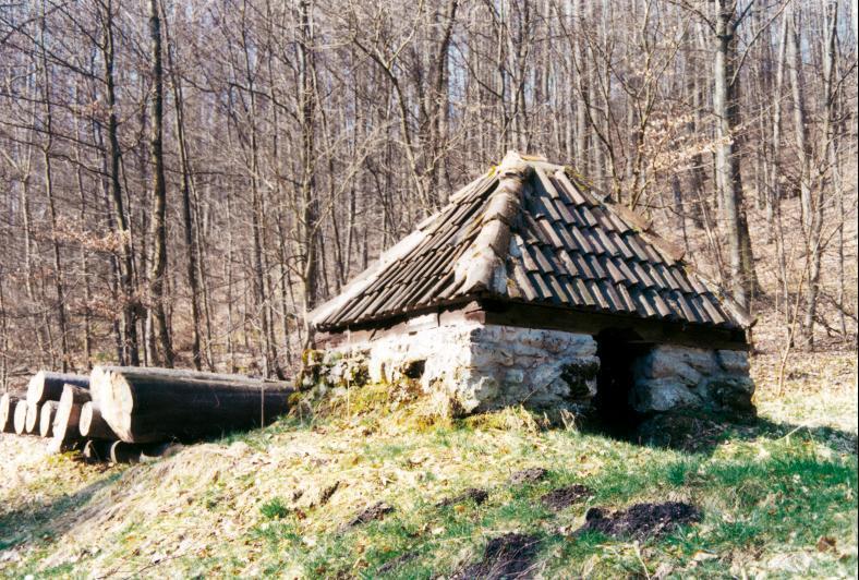 Diese Köhlerhütte aus dem 18. Jahrhundert gehört zum Bergbaurevier nahe Neuenhof.