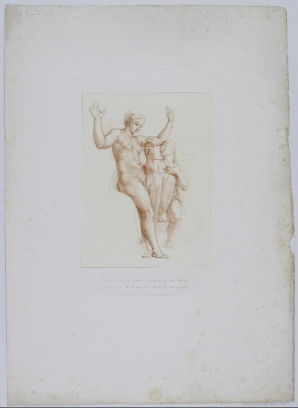 Venus und Psyche nach Raffel