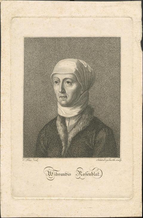 Porträt Wibrandis Rosenblat