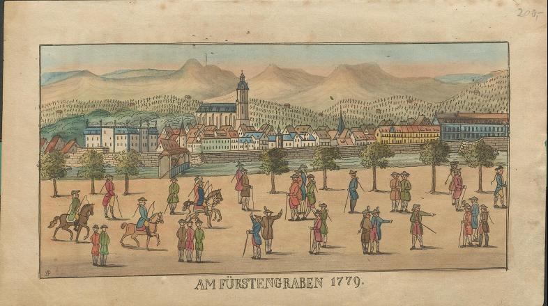 Am Fürstengraben 1779