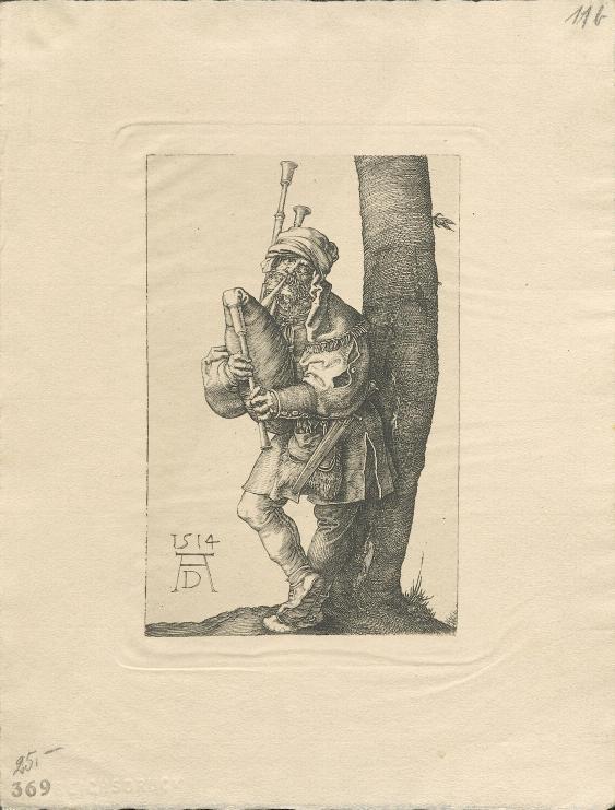 Sackpfeifer von Albrecht Dürer