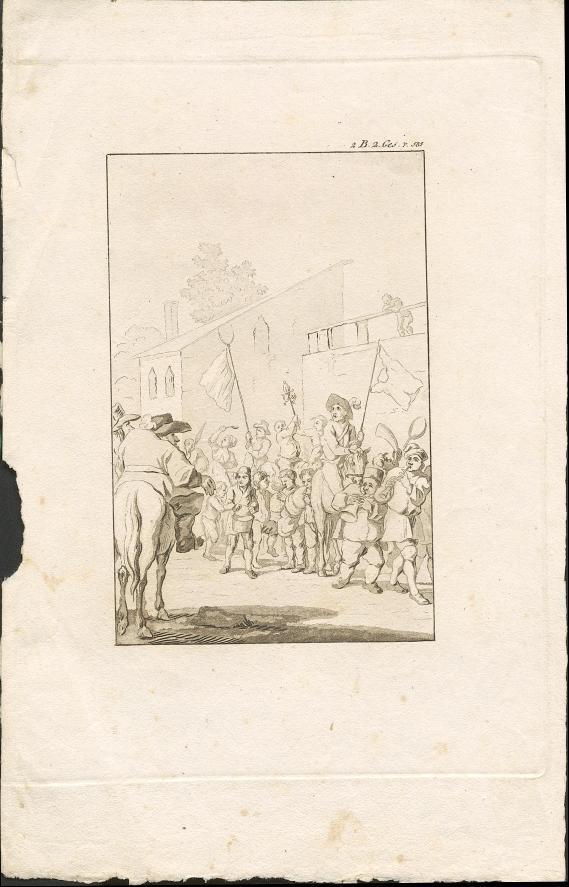 Straßenparade
