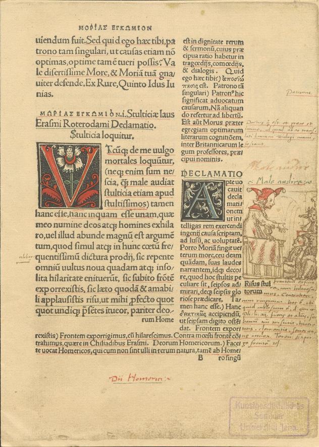 Erasmus von Rotterdam: Encomium moriae