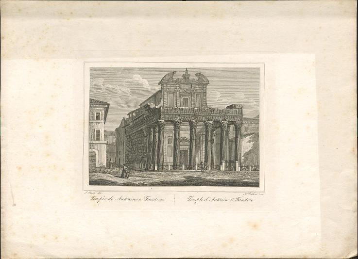 Tempel des Antonius Pius und der Faustina in Rom