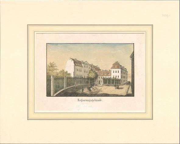Regierungsgebäude in Jena