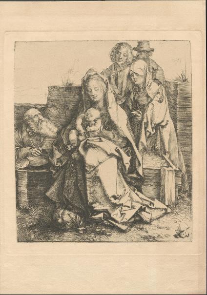 Die Heilige Familie mit den Heiligen Johannes, Magdalena und Nicodemus