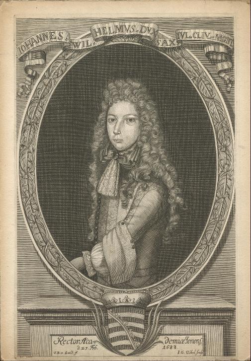 Porträt Herzog Johann Wilhelm von Sachsen-Jena