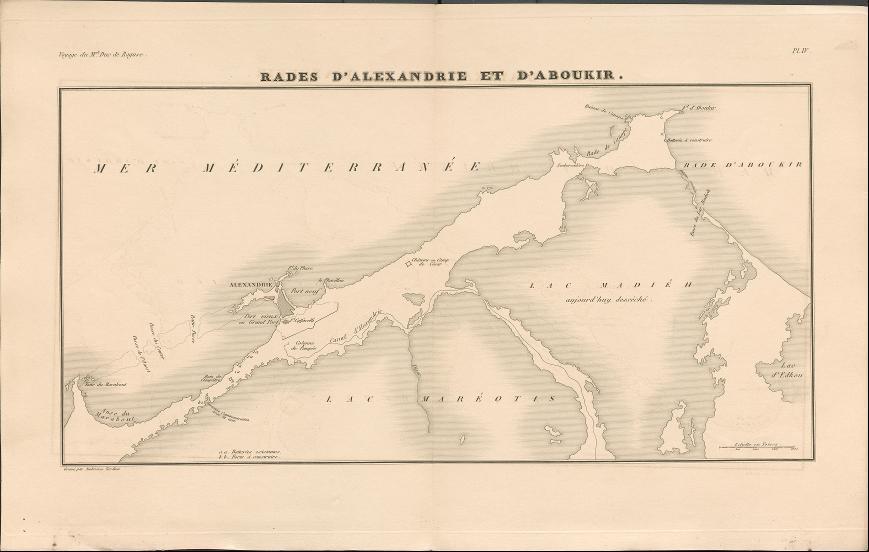 Rades d'Alexandrie et d'Aboukir.