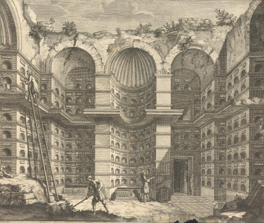 Grabkammer der Freigelassenen und Diener der Familie des Augustus